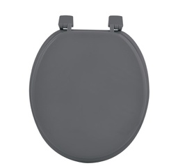 [6STO085GR] ABATTANT WC MDF UNI GRIS ANTHRACITE