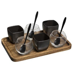 [173719] SET APERITIF AMAZONIE 10 PIECES